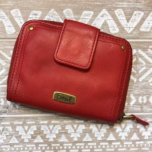 Fossil | Red Leather Wallet